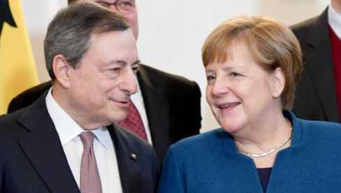 merkel draghi Italia economicamente forte