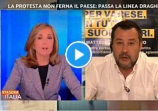 "Palombelli: ""se venisse un carabiniere a salvarmi vorrei che fosse vaccinato"""